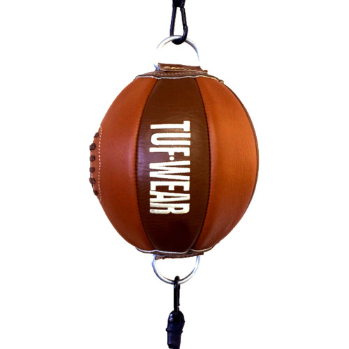 TUF WEAR BROWN LEATHER FLOOR TO CEILING BALL