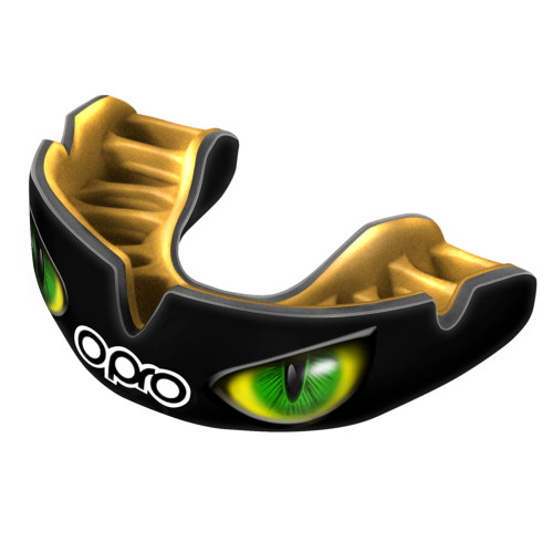 OPRO POWER-FIT AGGRESSION EYES MOUTHGUARD
