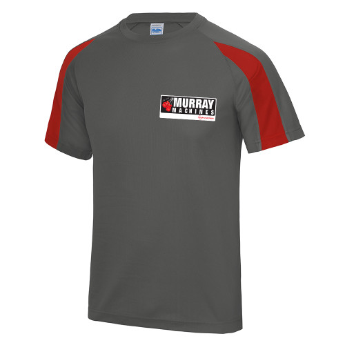 MURRAY MACHINES GYM CONTRAST COOL TEE