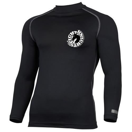 FIGHT KNIGHTS BOXING GYM LS BASE LAYER
