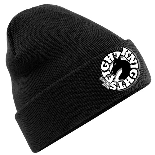 FIGHT KNIGHTS BOXING GYM CUFFED BEANIE