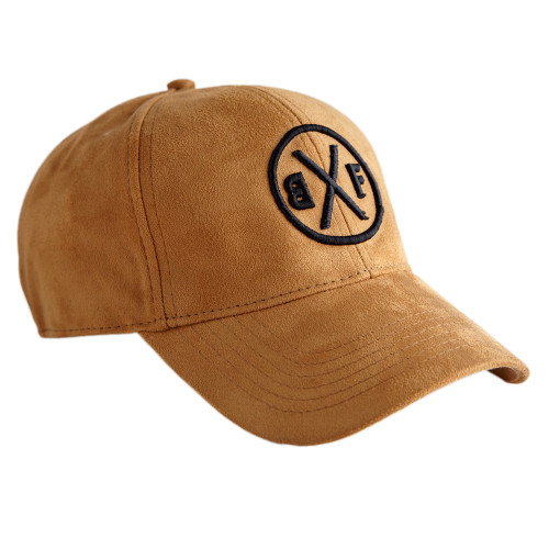 BXF FAUX SUEDE 6-PANEL BASEBALL CAP