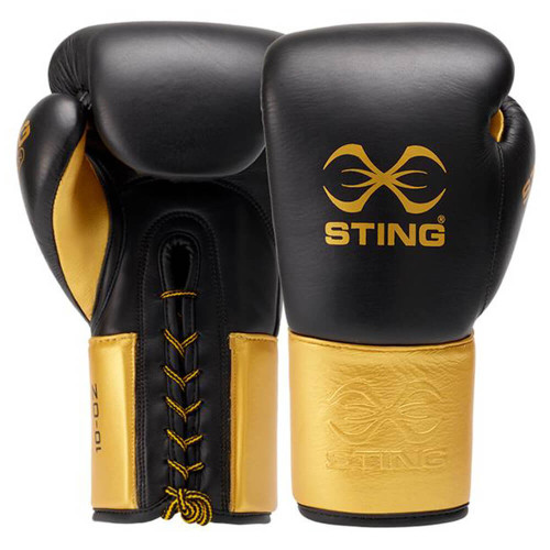 STING EVOLUTION FIGHT LACE BOXING GLOVES