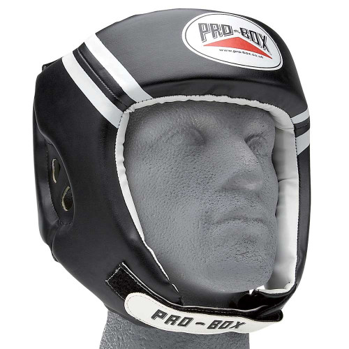 PRO BOX CLUB ESSENTIAL PU HEADGUARD BLACK