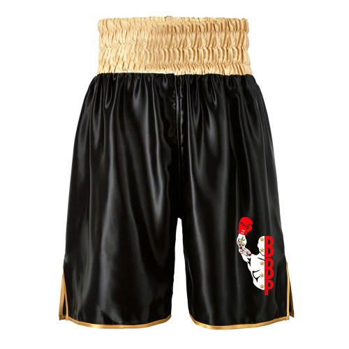 BRENTS BOXING PETERBORO BLACK BOXING SHORTS