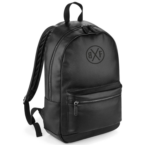 BXF FAUX LEATHER FASHION BACKPACK
