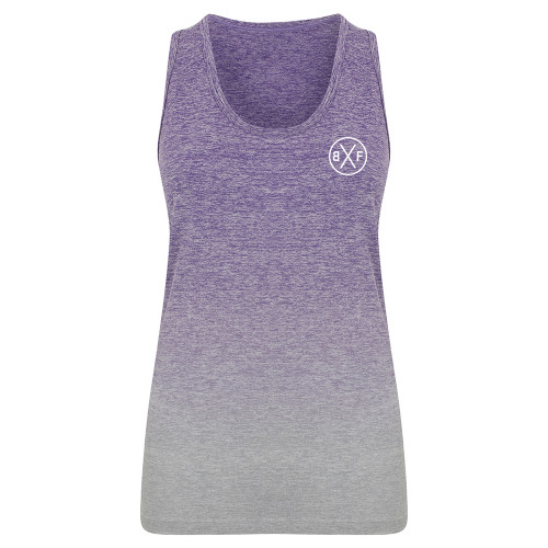 BXF WOMENS SEAMLESS FADE OUT VEST