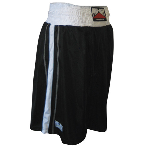PRO BOX BODY TEC BOXING SHORTS - BLACK