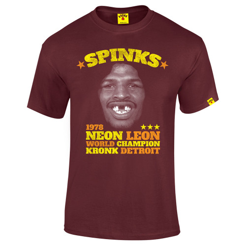 KRONK NEON LEON SPINKS T-SHIRT