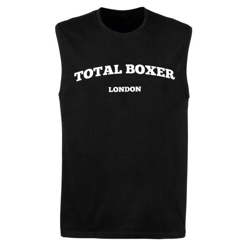 TOTAL BOXER LONDON CAP SLEEVE TOP
