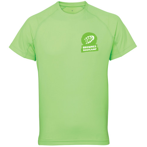 BROWNES BOOT CAMP PANELLED TECH TEE