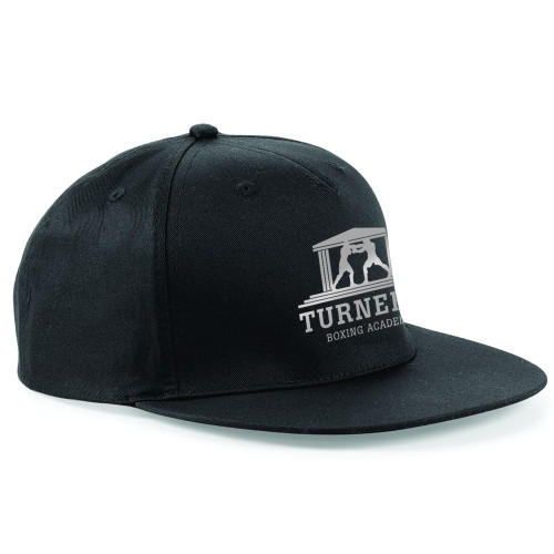 TURNERS BOXING ACADEMY SNAPBACK CAP-SILVER