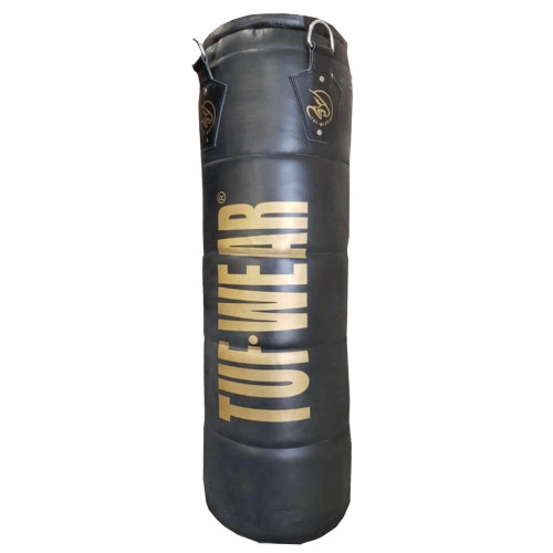 TUF WEAR CLASSIC QUILTED LEATHER PUNCH BAG