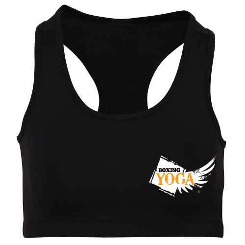 BOXING YOGA GIRLIE COOL SPORTS CROP TOP