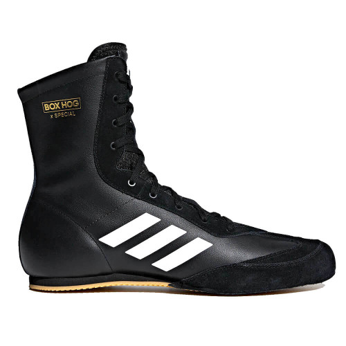 EXCLUSIVE ADIDAS BOX HOG X SPECIAL BOXING BOOTS