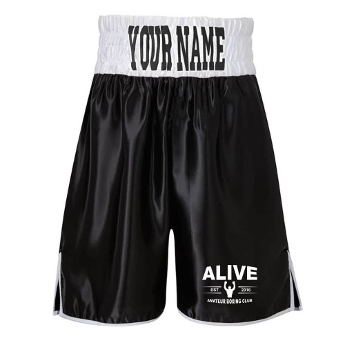 ALIVE ABC BOXING SHORTS