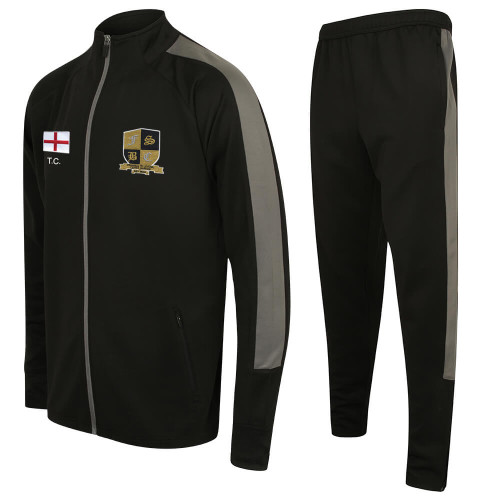 FIVE STAR SLIM FIT POLY TRACKSUIT