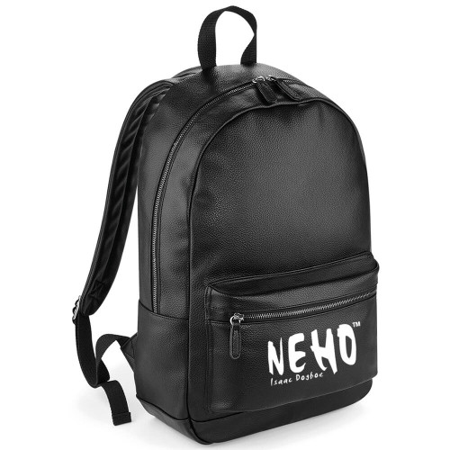 ISAAC DOGBOE FAUX LEATHER BACKPACK