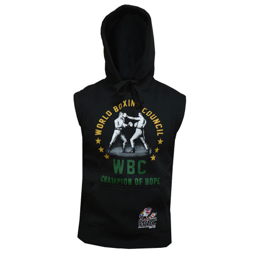 ADIDAS SLEEVELESS WBC BOXING HOODY