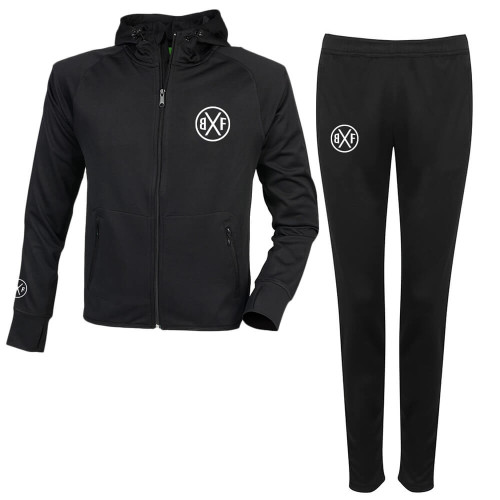 BXF SLIM FIT RELECTIVE TRACKSUIT