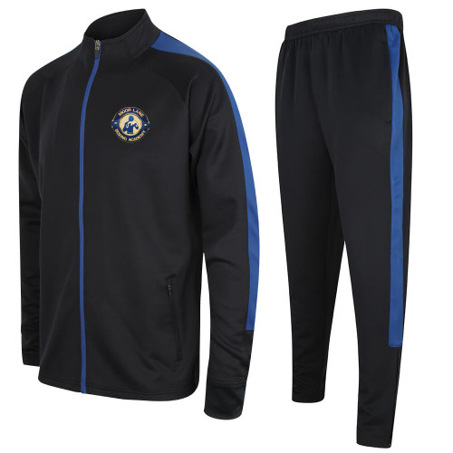 MOOR LANE SLIM FIT POLY TRACKSUIT