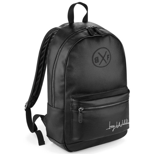 LUCY WILDHEART FAUX LEATHER FASHION BACKPACK