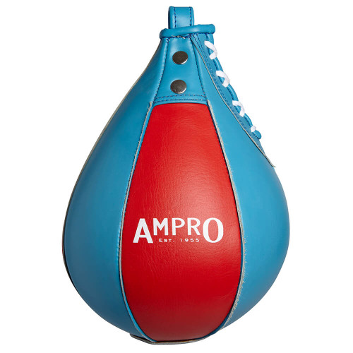 "AMPRO 9"" LEATHER SPEEDBALL"