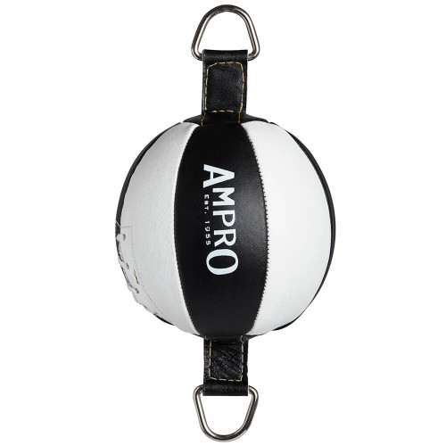 "AMPRO 7"" LEATHER DOUBLE END PUNCH BALL"