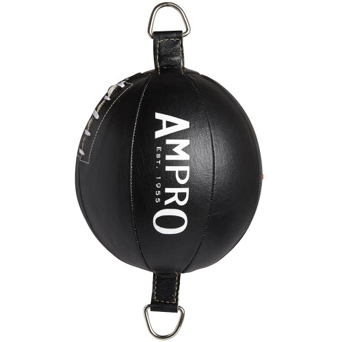 """AMPRO 9"""" LEATHER DOUBLE END PUNCH BALL"""