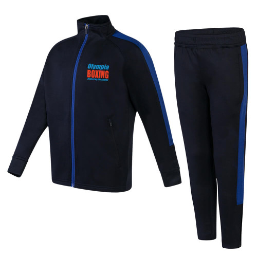OLYMPIA BOXING KIDS SLIM FIT POLY TRACKSUIT