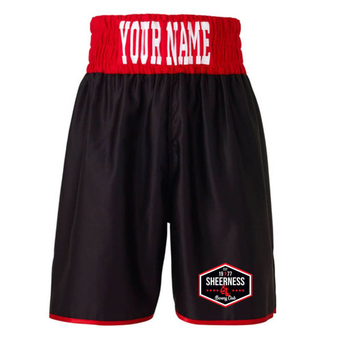 SHEERNESS BOXING CLUB BOXING SHORTS