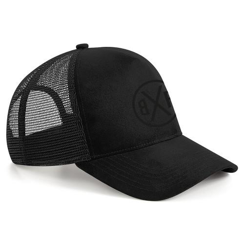 BXF SUEDE TRUCKER CAP