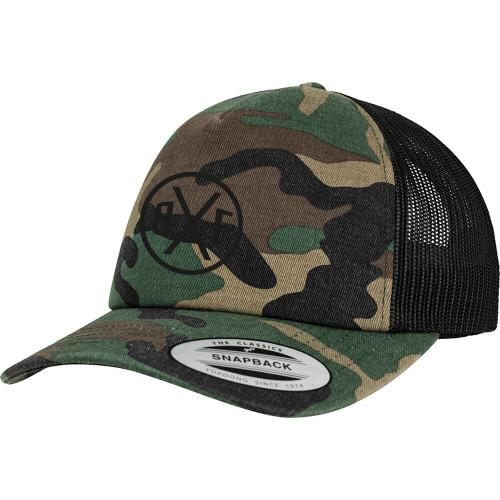 BXF CAMO TRUCKER CAP