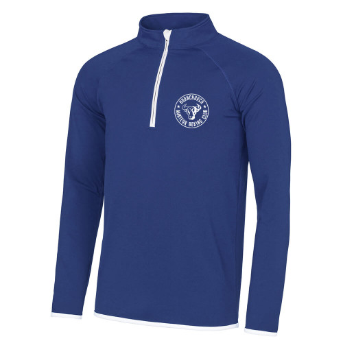 HORNCHURCH ABC COOL 1/2 ZIP SWEATSHIRT