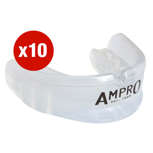 MULTI-BUY - 10 X AMPRO AIR FLOW GEL MOUTHGUARD