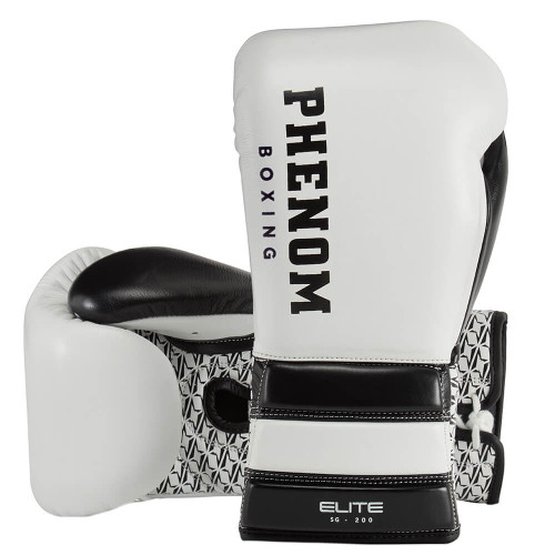 PHENOM BOXING ELITE SG-200 PROFESSIONAL SPARRING LACE GLOVES
