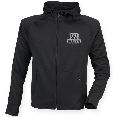 TURNERS BOXING ACADEMY REFLECTIVE RUNNING HOODIE