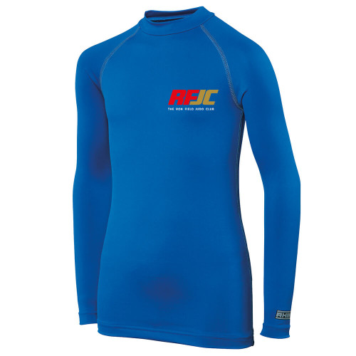 THE RON FIELD JUDO CLUB KIDS LONG SLEEVE BASE LAYER
