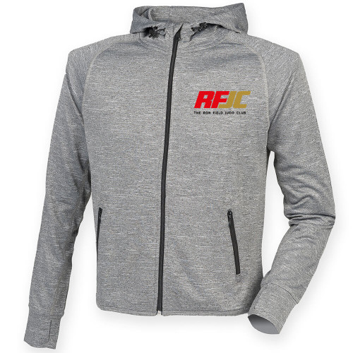 THE RON FIELD JUDO CLUB REFLECTIVE RUNNING HOODIE