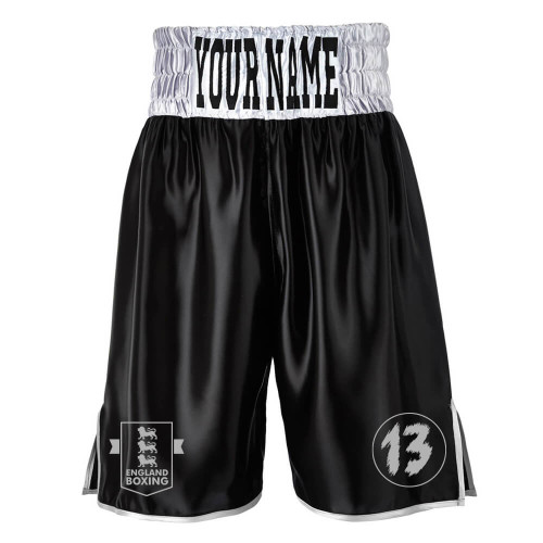 CLUB 13 CONTRAST WAISTBAND BOXING SHORTS