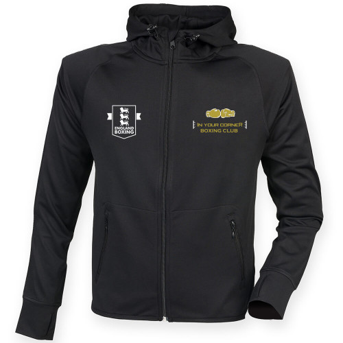 IN YOUR CORNER BOXING CLUB RUNNING HOODIE