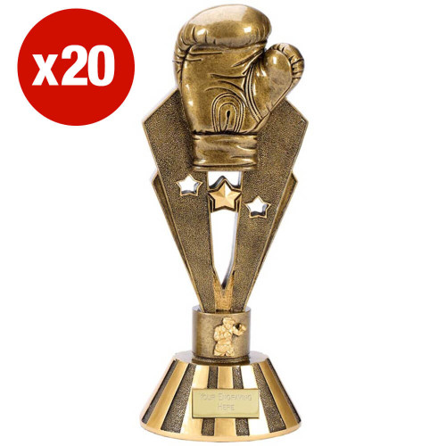 MULTI-BUY - 20 X BOXING GLOVE GLORY TROPHY