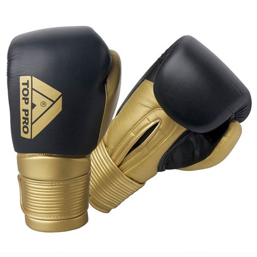 TOP PRO 360 PRO BOXING LEATHER SPARRING GLOVES