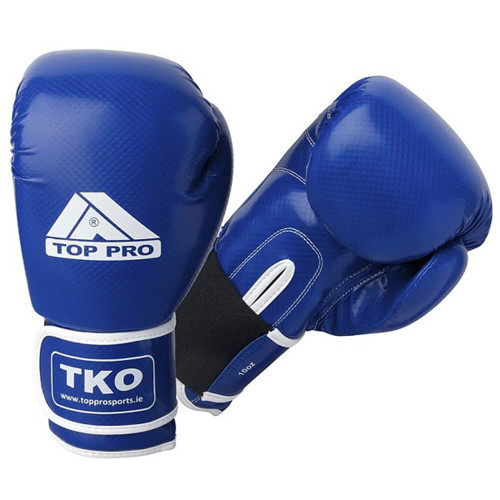 TOP PRO TKO CARBON BOXING GLOVES