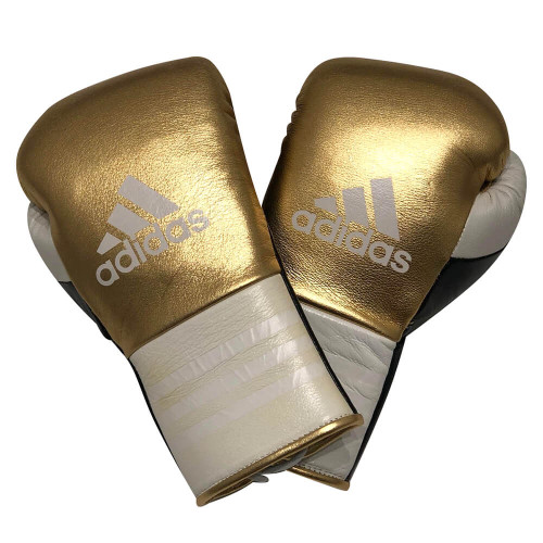 ADIDAS LIMITED EDITION CUSTOM US HANDMADE LACE SPARRING GLOVE