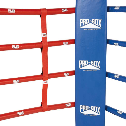 PRO BOX RED BOXING RING ROPE SEPARATORS