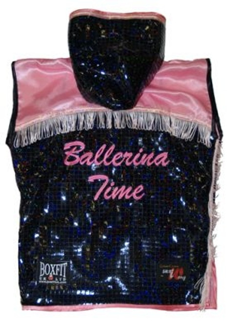 BALLERINA SLEEVELESS RING JACKET REVERSE