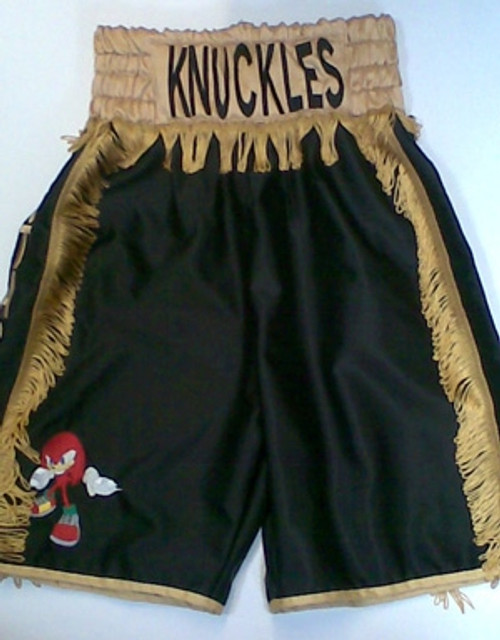 "SUZI WONG ""KNUCKLES"" MAKE-UP SHORTS"
