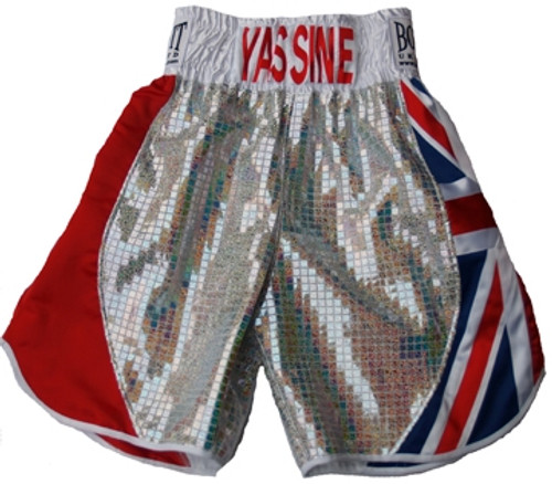 YASSINE SHOWMAN ELMAACHI PRO BOXING SHORTS