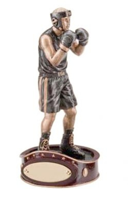 BOXING TROPHY WITH BELT BASE 150mm